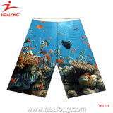 Healong Top Sale Customized Sportswear Sublimation Printing Beach Shorts