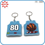 3D New Design Basketball T Shirt Keychain