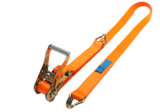 2017 1tx10m Ratchet Tie Down with D J Hook 100% Polyester Tie Downs
