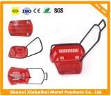 Stout Plastic Shopping Basket for Suppermarket Convenience Stores
