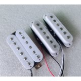 White Color High Output Ssh AlNiCo Humbucker Guitar Pickup