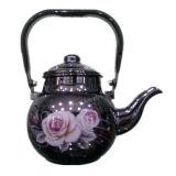 Kitchen Utensils, Enamel Teapot, Ceramic Enamel Kettle, Steel Enamel Kettle