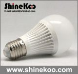 Aluminium Plastic E27 7W 9W 12W LED Bulb (G60-7W)