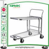 Supermarket Platform Warehouse Cargo Trolley
