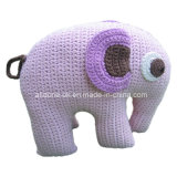 Cute Design Hand Crochet Baby Kid Elephant Pillow Toy