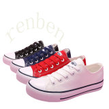New Arriving Hot Vulcanized Women′s Casual Canvas Shoes