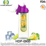 23oz Tritan Material Water Bottle with Fruit Infuser, BPA Free Plastic Fruit Infusion Bottle (HDP-0900)