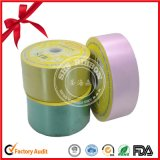 Single Face Plain Polyester Satin Ribbon Roll