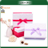 Colorful Promotion Stock Paper Gift Box with Bowknot