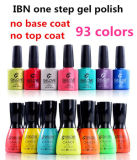 Ibn MSDS Approved No Base No Top Coat LED Nail Gel One Step
