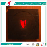 BMC Inner Round Manhole Cover with Square Frame