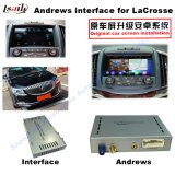 Auto Upgrade Android System HD Multimedia Video Interface GPS Navigator for 13-16buick Lacrosse