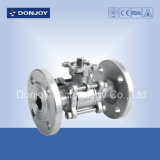 3PCS Industrial Flanged Ball Valve with EPDM Gasket