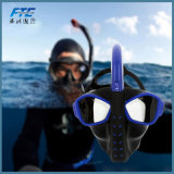Snorkeling Mask Silicone Full Face Masque Tuba Plongee Diving Mask