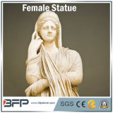 Customized Carved Sculpture Western Style Figure Granite Statue for Garden Decoration