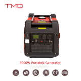 3000W 120V Fuel Efficient Digital Inverter Generator with Oil Alert