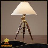 Hotel Beedroom Hand-Cranking Tripod Table Lamp (KA211)