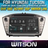 Witson Car DVD for Hyundai Tucson (W2-D8270Y) Car DVD GPS 1080P DSP Capactive Screen WiFi 3G Front DVR Camera
