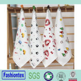 Hot Sale Soft Kids Custom Print Muslin Cloth Baby Face Towel