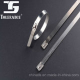 304 Naked Self-Locking Stainless Steel Cable Ties-Ball Lock Type