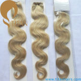 Ombre 27#/613# Virgin Human Hair Weave Hair Weft