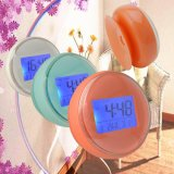 Digital Waterproof Wall Clock with Suction for Bathroom