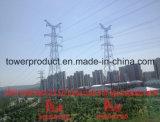 220kv Transmission Line Sz2 Double Circuit Drum Type Suspension Tower