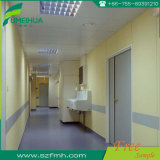 Hospital Indoor Cleanroom White Compact Laminate Wall Cladding