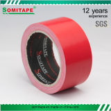 Sh318 Strong Adhesive Red Duct Tape Single Sided Tape for Carton Packing or Wrapping Somitape