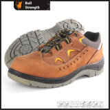 Industrial Leather Safety Shoes with Steel Toecap (Sn5387)