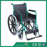 CE/ISO Approved Hot Sale Cheap Medical Steel Wheel Chair (MT05030006)