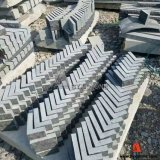 Chinese Blue Limestone Corner Stone for Wall Cladding