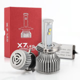 Automotive LED Headlamp H4 6000k X7 LED Headlight Bulbs for 120W 9600lm 6000k Car Headlight LED Auto Front Fog Light Bulbs