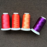 Polyester Filament Yarn Embroidery Thread for Clothing/Garment
