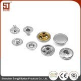 Monocolor Round Individual Metal Snap Button for Bags