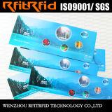13.56MHz Color Sticker Waterproof RFID Ticket