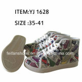 MID-Cut Student Injection Casual Shoes Sport Shoes (FFYJ1223-04)