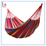 High Quality Portable Cotton Sleeping Hammock for Outdoor Camping