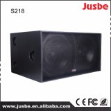 Stage Sound Equipment S218 Dual 18 Speaker Subwoofer
