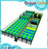 Amusement Park Mini Trampoline for Kids
