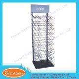 Floor Standing Metal Supermarket Hanging Rug Display Rack for Sale