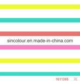 80%Nylon 20%Spandex Striped Printing Swimwear Fabric
