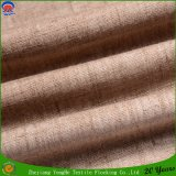 Woven Waterproof Fr Blackout Window Curtain Fabric Polyester Linen Curtain Fabric