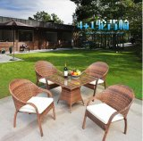 Outdoor Woven PE Rattan Tables and Chairs Tables and Chairs (Z350)