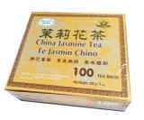OEM-Jasmine Green (100teabag/giftbox)