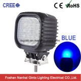 Agriculture Machine E-MARK 48W CREE LED Work Light for Trailer (GT1013-48W Blue)