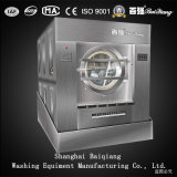 CE Approved 150kg Steam Heating Laundry Tilting Unloading Washer Extractor