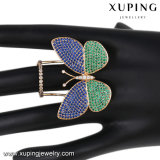 Fashion Elegant Multicolor CZ Butterfly Jewelry Finger Ring for Women-14108