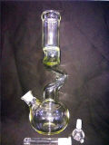 026hitman Quad Chamber Incycler Recycler Glass Water Pipe