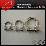 Stainless Steel Security D Shape Shackles